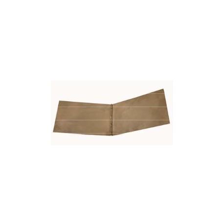 Plaque à encrer pliante (10 x 15 cm pliée) - l'unité
