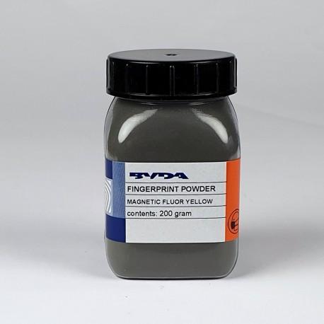 Poudre magnétique jaune fluo ultra-fine - pot de 200 g