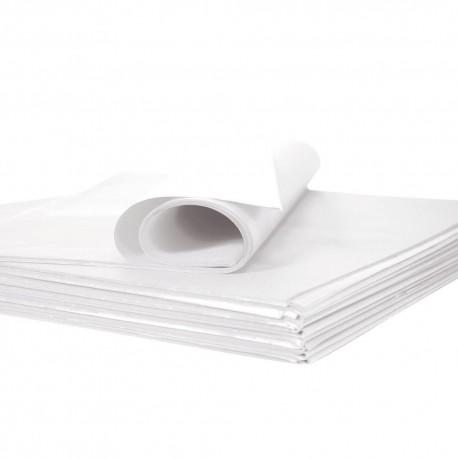 Feuilles souples pliées type papier de soie - 75 x 50 cm - lot de 50