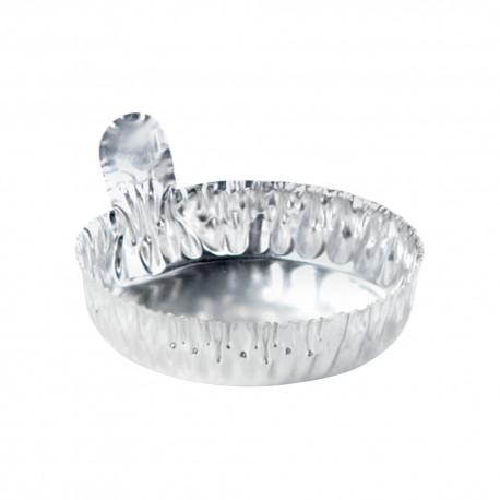Coupelle aluminium - diamètre 5 cm - hauteur 15 mm - lot de 100