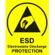Boîte de transport ESD antistatique avec mousse dissipatrice 200 x 140 x 50 mm - l'unité