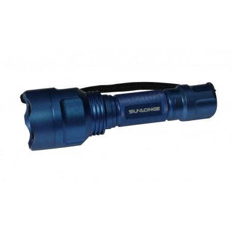 Lampe torche lumière bleue 455 nm - le coffret