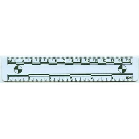 Réglet vinyle magnétique 15 cm