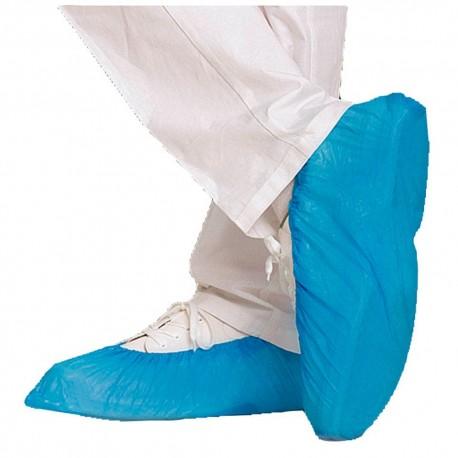 Protection Sur chaussures bleues CPE 47 cm - lot de 55 paires (110 pièces)