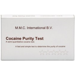 Test MMC Pureté Cocaïne - boîte de 10 tests